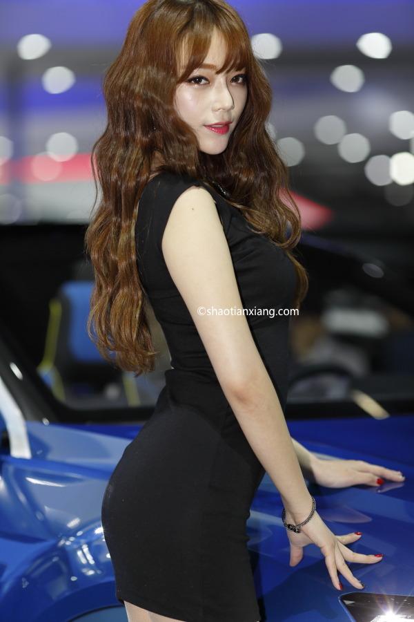 2015年首尔国际车展、Seoul Motor Show、韩智妍