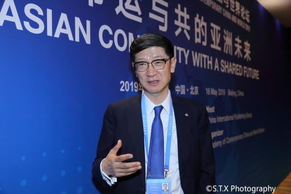 韩国希杰集团中国区总裁朴根太