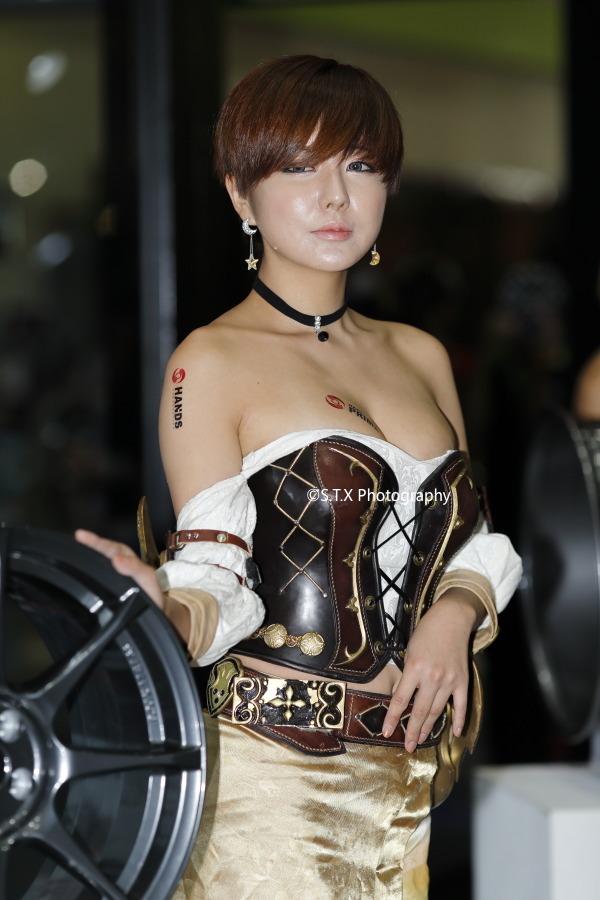 2015年首尔汽车沙龙、2015Seoul Auto Salon、柳智惠