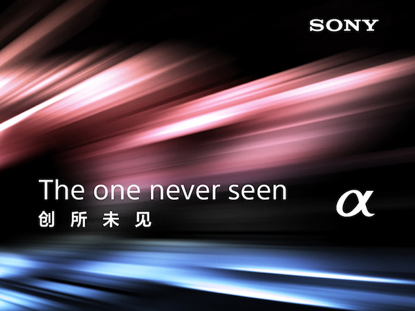 Sony The One Never Seen
