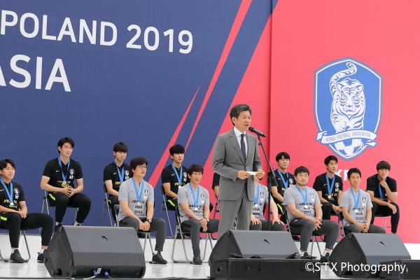 韩国足球协会会长郑梦奎