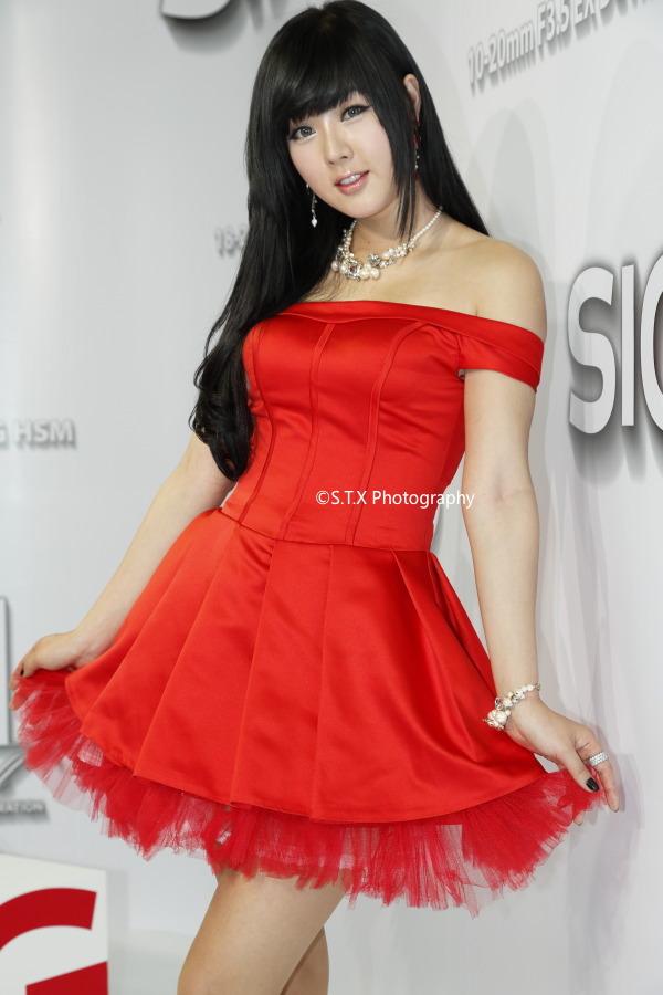 2012首尔国际摄影影像器材展、PHOTO & IMAGING 2012、黄美姬