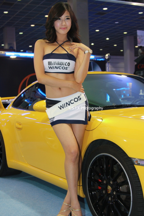金夏律、第6届首尔汽车沙龙、2008Seoul Auto Salon