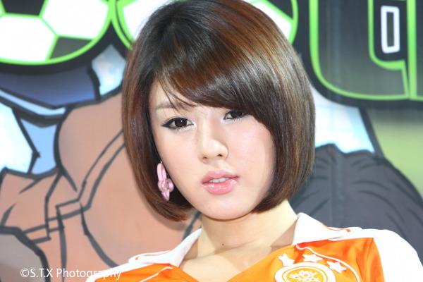 2008 G-STAR国际游戏展、黄美姬