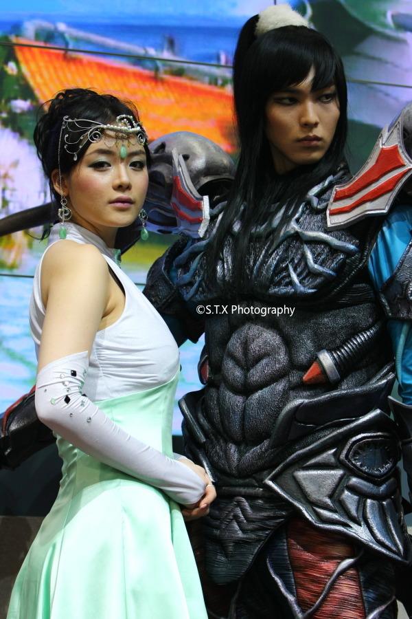 2008 G-STAR国际游戏展、林智慧