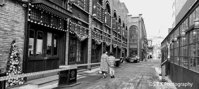 手机黑白街头摄影