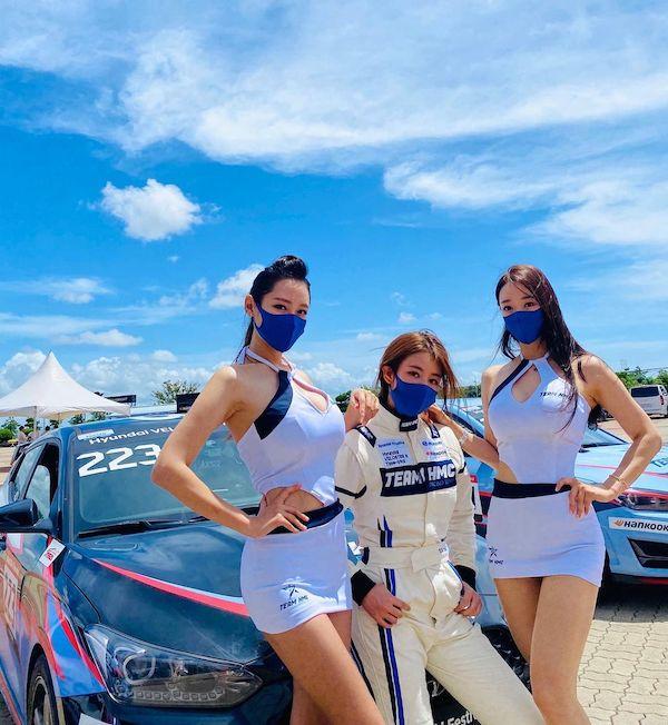 郑宥娜、韩国女赛车手
