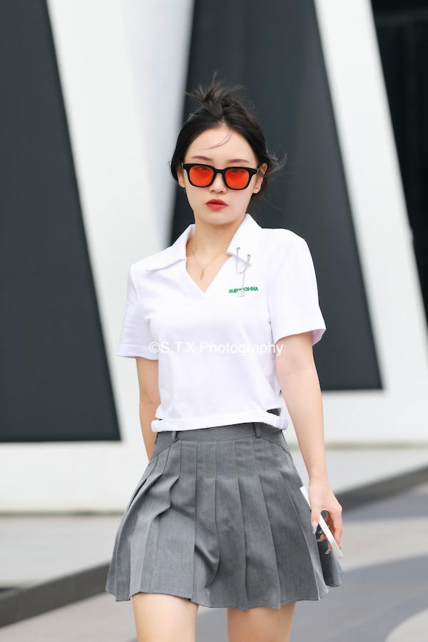 夏季北京时尚街拍
