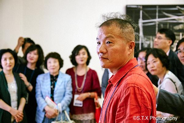 中国当代摄影艺术家王庆松