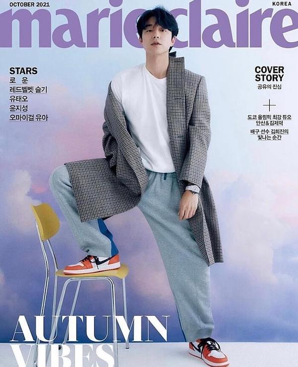 孔刘、Air Jordan 1 Low OG Starfish
