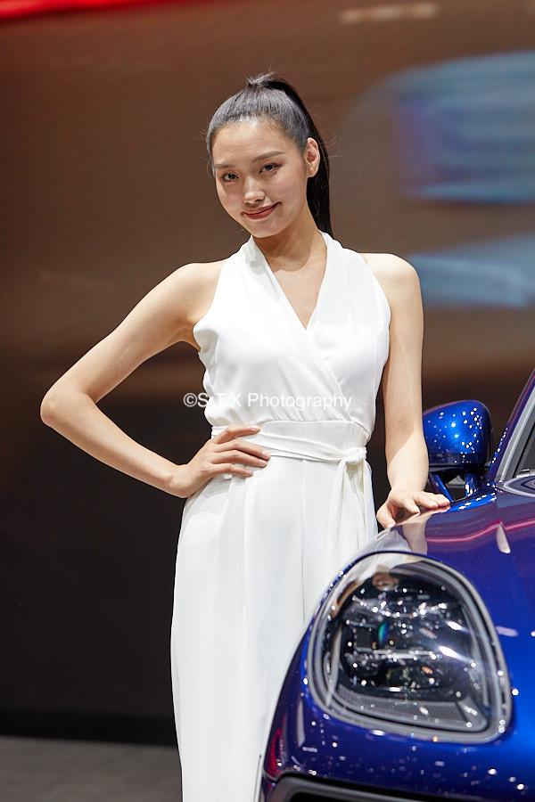 2021成都车展美女车模